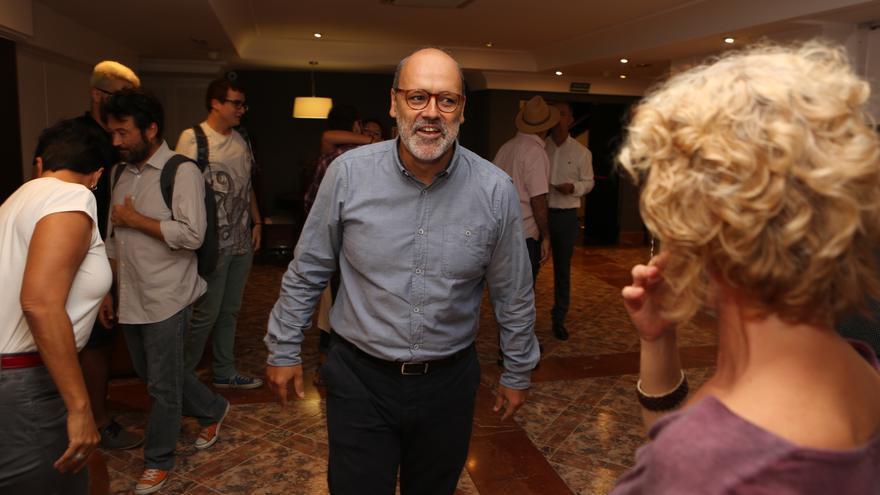 El vicepresidente del Cabildo de Gran Canaria, Juan Manuel Brito (ALEJANDRO RAMOS)