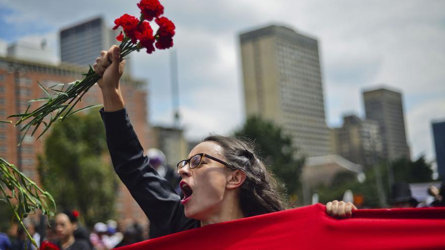 Marcha por la paz, en Bogotá | Foto: Geraldkurt