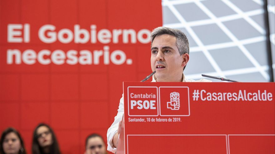 Pablo Zuloaga, candidato del PSOE a la Presidencia de Cantabria.
