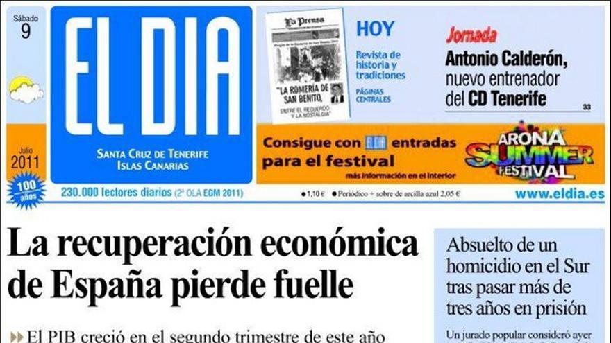 De las portadas del día (09/07/2011) #2