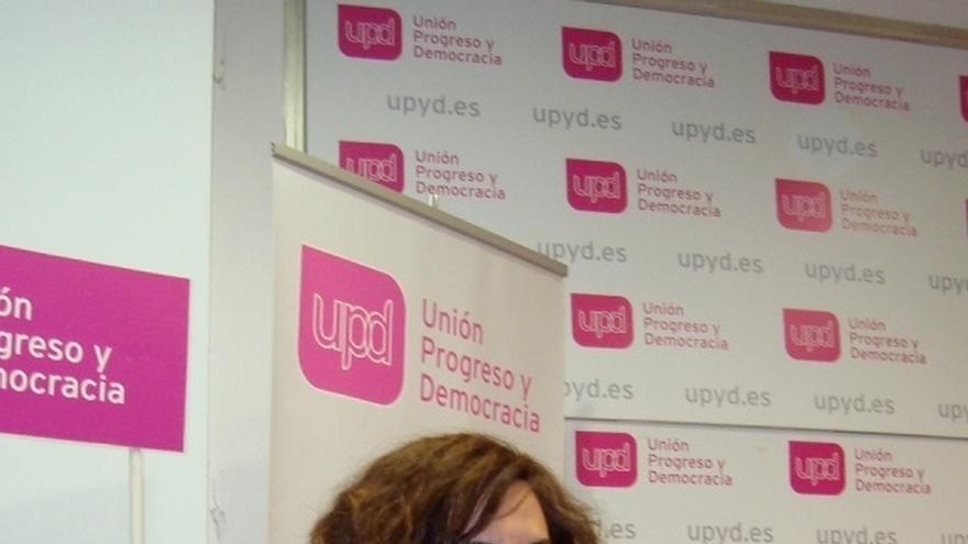 """Irene Lozano (UPyD): """"En Madrid todo es corrupción, lo es el PP, el PSOE y la dirección de IU"""""""