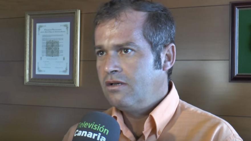 Emiliano Coello durante su comparecencia
