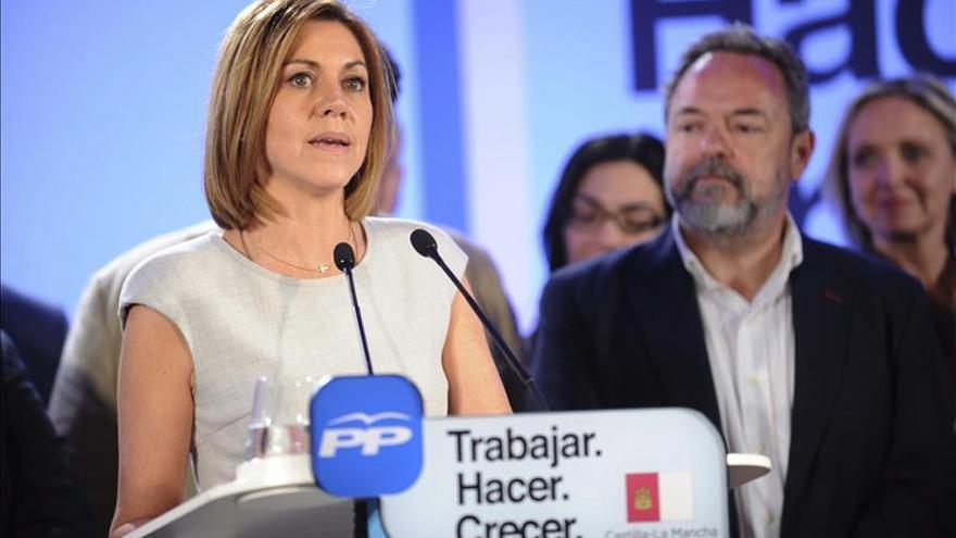 Cospedal presentará su candidatura a la investidura en Castilla-La Mancha