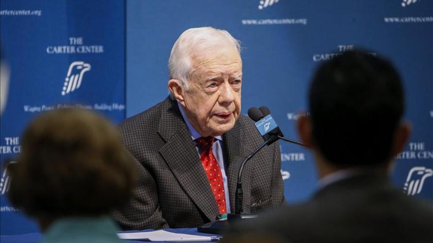 Jimmy Carter evoluciona favorablemente de su cáncer cerebral