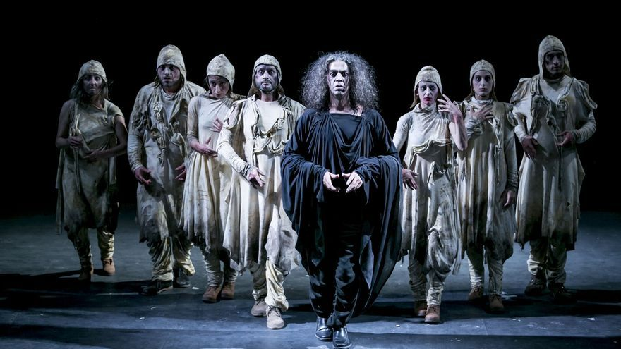 Atalaya pone en escena Marat Sade en el Palacio de Festivales el próximo fin de semana