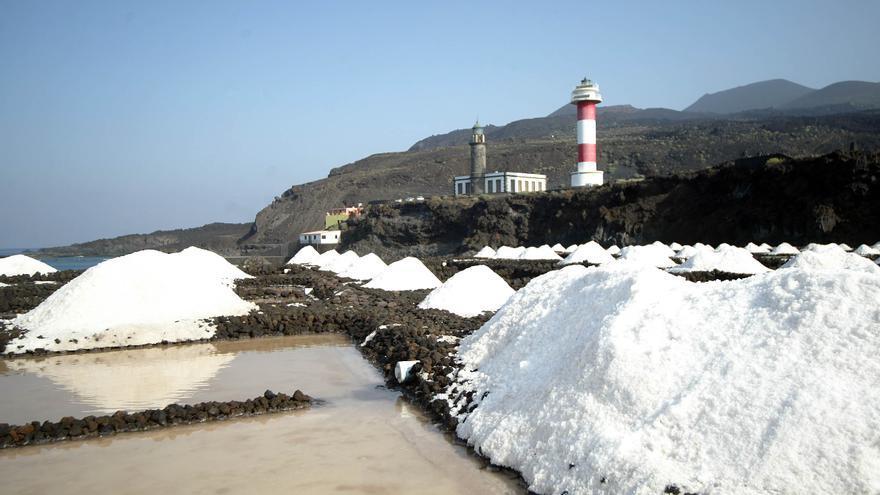 La producción anual de sal gruesa está entre las 500 y 600 toneladas.