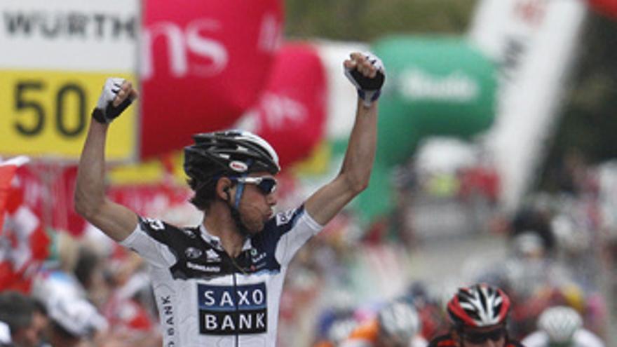 Frank Schleck gana en Suiza