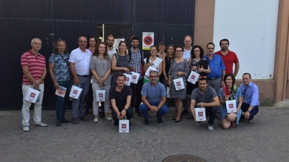 Participantes en el proyecto 'Provide'.