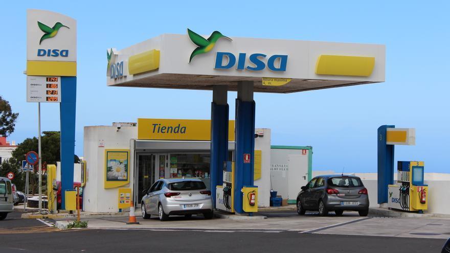 Gasolinera en El Hierro