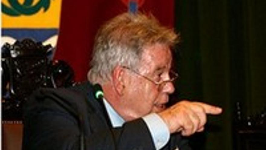 Marcos Brito, alcalde de Puerto de la Cruz.