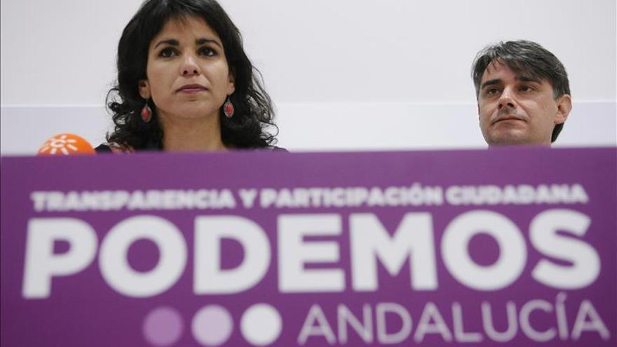 Teresa Rodríguez y Juan Moreno Yagüe.