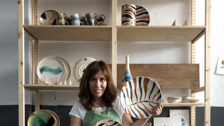 Ana Illueca, ceramista