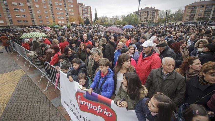 Los trabajadores de Campofrío no quieren regalos pero sí ayuda