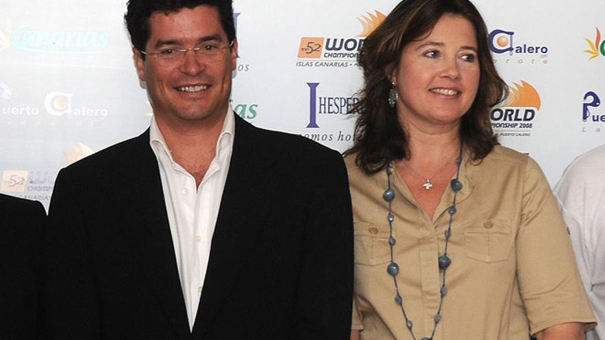 Carlos Morales y Alexia de Grecia / Foto: Adriel Perdomo.