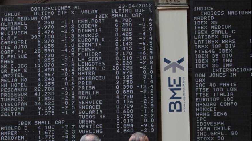 (Ampl) El Ibex 35 se anota un 2,6% y conquista los 8.200 puntos pendiente del rescate