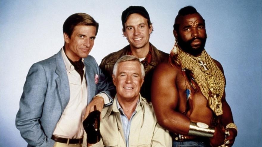 'El equipo A', una de las series míticas de los años 80