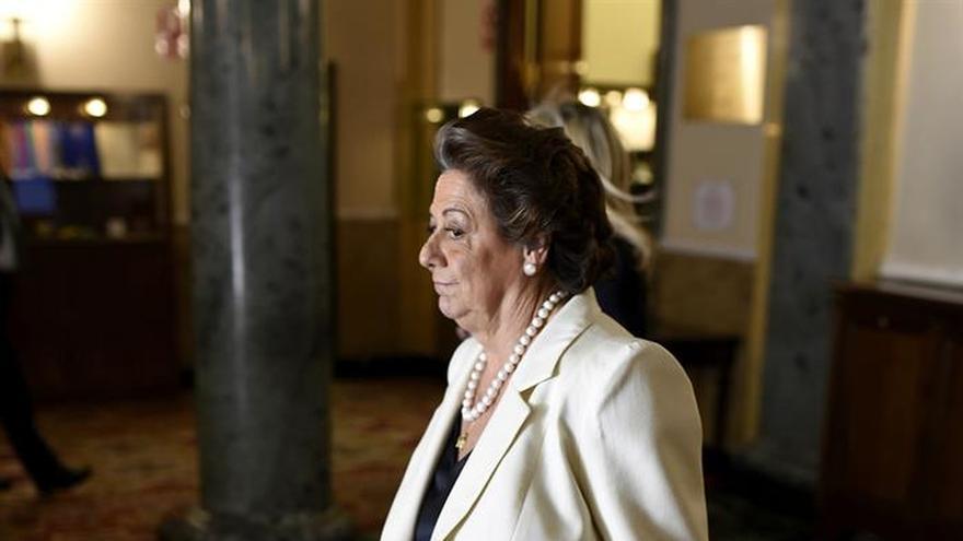 Rita Barberá, senadora por el PP