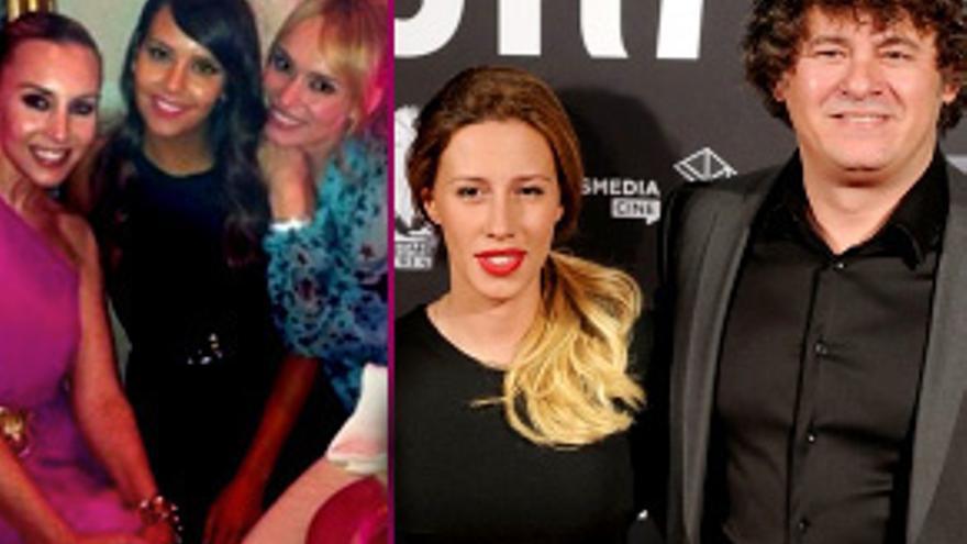 La boda de Miki Nadal y Carola Escámez, con las invitadas Pedroche, Berta y Patricia Conde