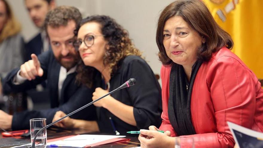 La consejera de Educación, Universidades, Cultura y Deportes del Gobierno de Canarias, María José Guerra. EFE/ Cristóbal García.