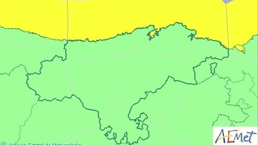 Cantabria continuará este sábado en aviso amarillo por oleaje
