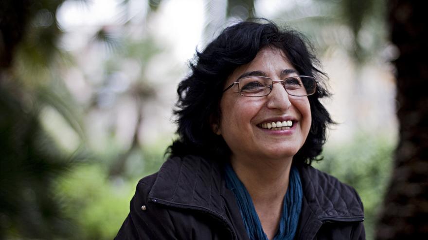 La profesora de Ciencias Políticas iraní Nazanín Armanian