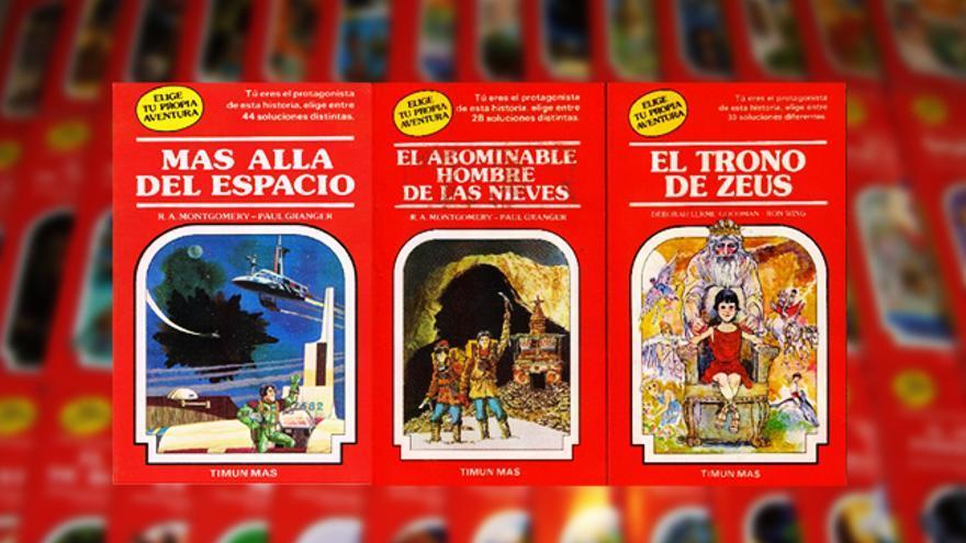 Colección de 'Elige tu propia aventura'