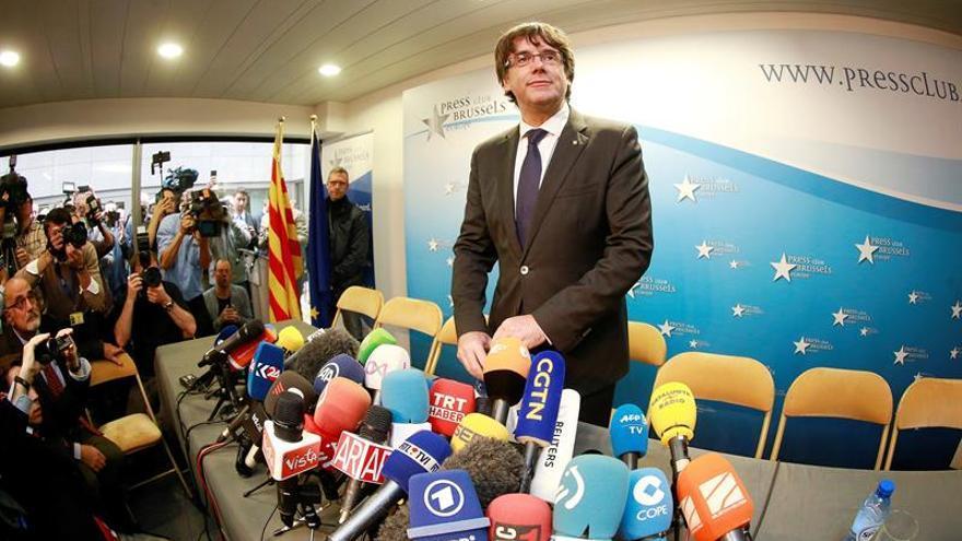 La Fiscalía belga estudiará la euroorden de Puigdemont antes de enviársela al juez