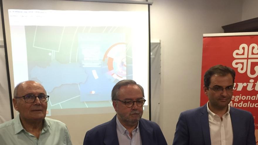 """Cáritas cifra 1,5 millones de andaluces en situación de exclusión social y otro millón """"al filo de la navaja"""""""