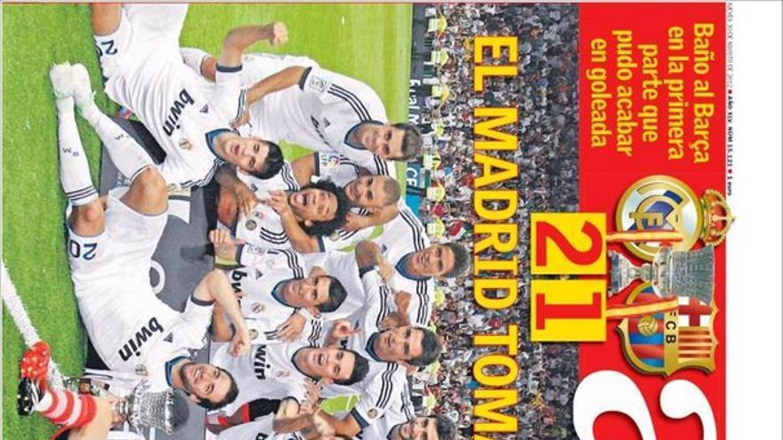 De las portadas del día (30/08/2012) #12