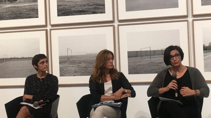 Susana Lloret, Nuria Enguita y Sonia Martínez en Bombas Gens