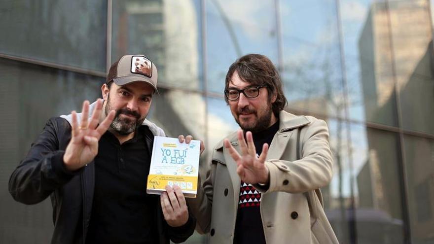 Javier Ikaz y Jorge Díaz cierran en amarillo la colección de libros sobre EGB