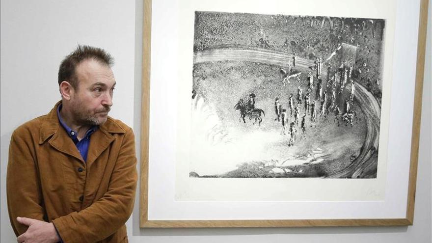 Barceló regresa a Madrid con su trabajo gráfico en Calcografía Nacional