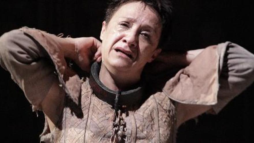 Blanca Portillo como Segismundo en 'La vida es sueño'