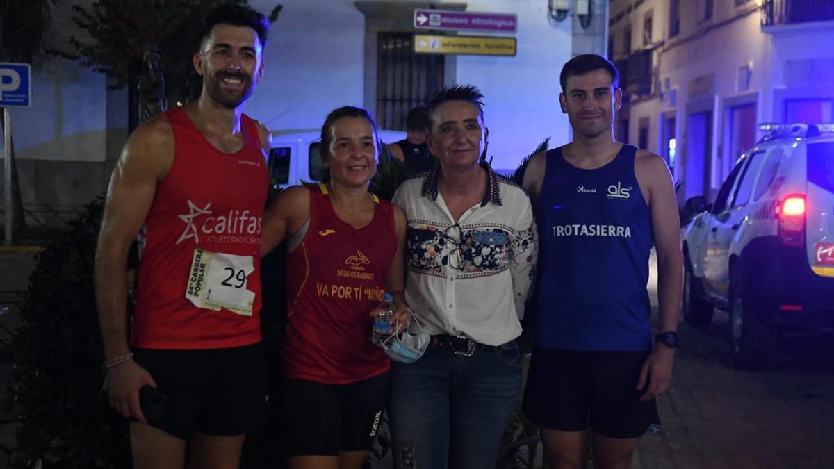 Ganadores de la Carrera Popular Ciudad de Hinojosa.