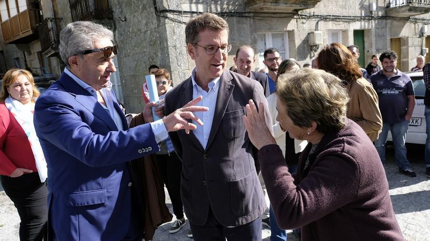"""Feijóo considera que si Rajoy """"sigue ayudando"""" en la campaña gallega el PP puede obtener la mayoría absoluta"""