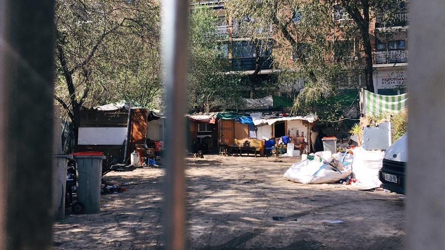 Asentamientos en la calle Manuel Ferrero
