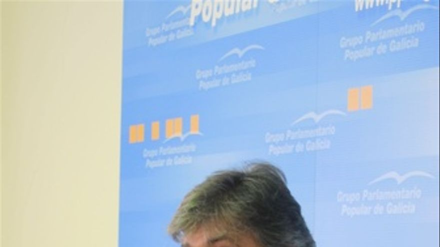 Pedro Puy en rueda de prensa
