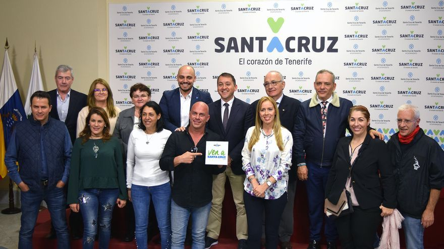 Presentación de los actos de 'Ven a Santa Cruz' por su quinto aniversario