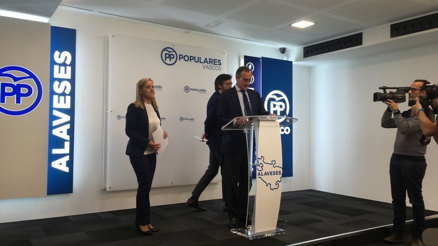 El PP vasco anuncia cambios para las listas de las elecciones generales en Euskadi
