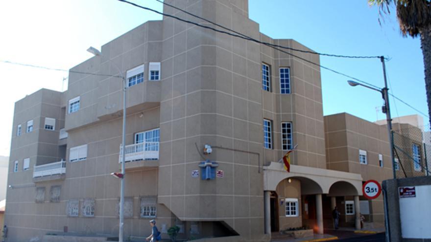 Comisaría de la Policía Nacional en Puerto del Rosario.