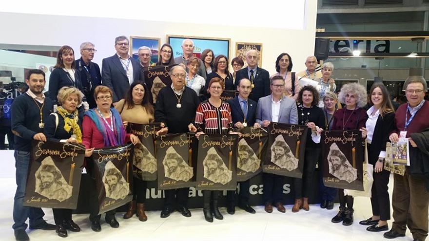 Jumilla mostró en Fitur su Semana Santa Internacional y su producto enoturístico