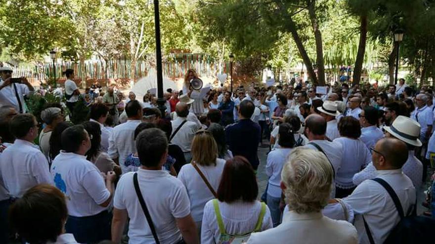 FOTO: Facebook Ganemos Izquierda Unida Albacete