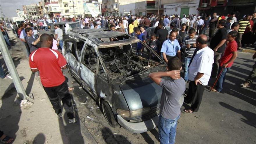 La explosión de Bengasi no fue un atentado, según las primeras investigaciones