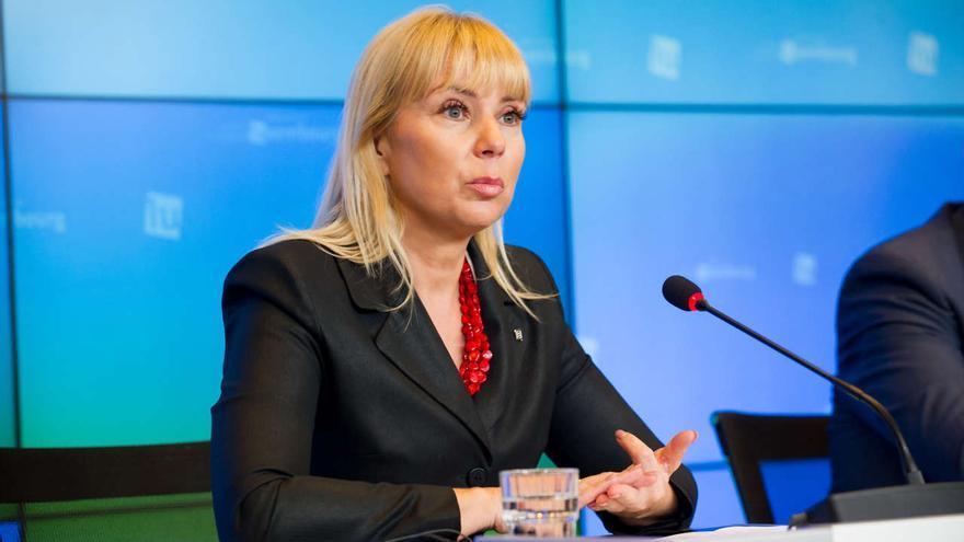 Elzbieta Bienkowska, comisaria europea de Mercado Interior, Industria, Emprendimiento y Pymes.