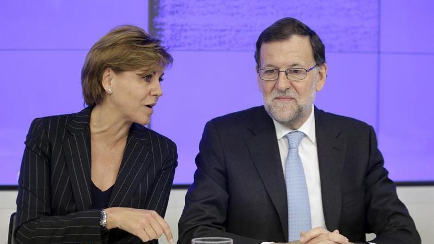 """Cospedal alerta ante el 26J del riesgo de reeditar gobiernos """"extremistas"""""""