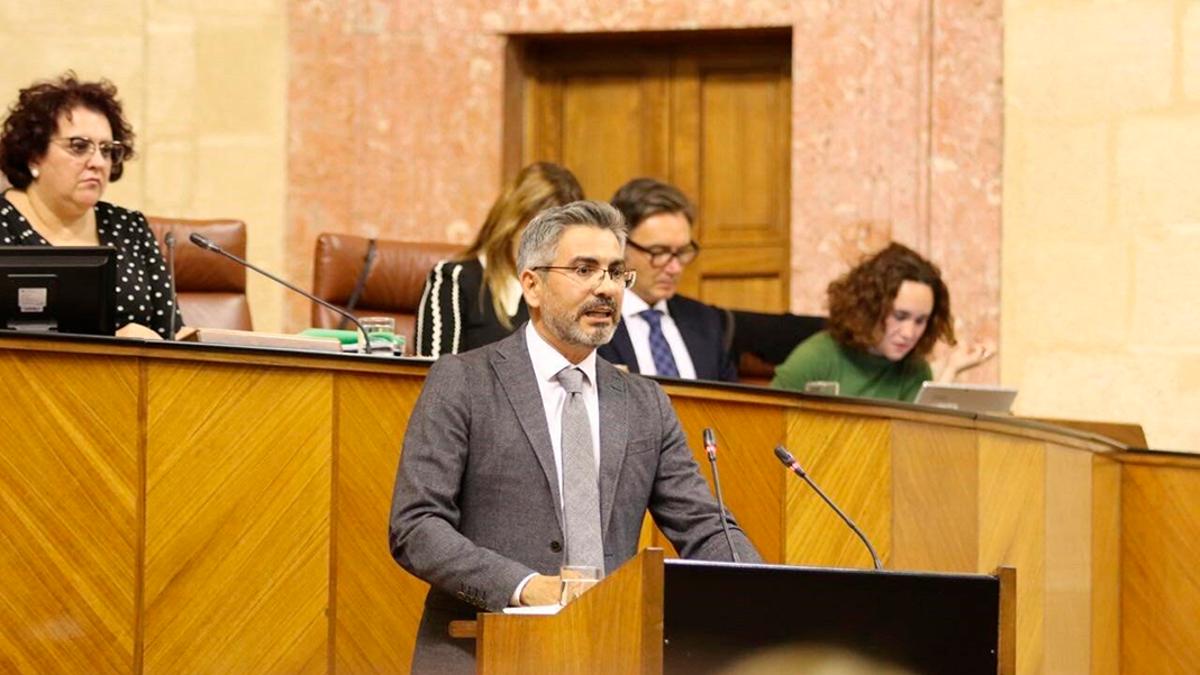 El parlamentario autonómico de Ciudadanos por Córdoba, Emiliano Pozuelo.