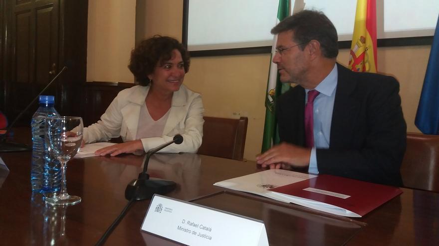 Catalá subraya que la disolución de la Sindicatura es innecesaria porque su creación fue suspendida por el TC