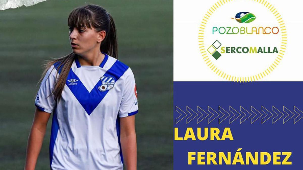 La delantera Laura Fernández, nueva jugadora del Pozoalbense.