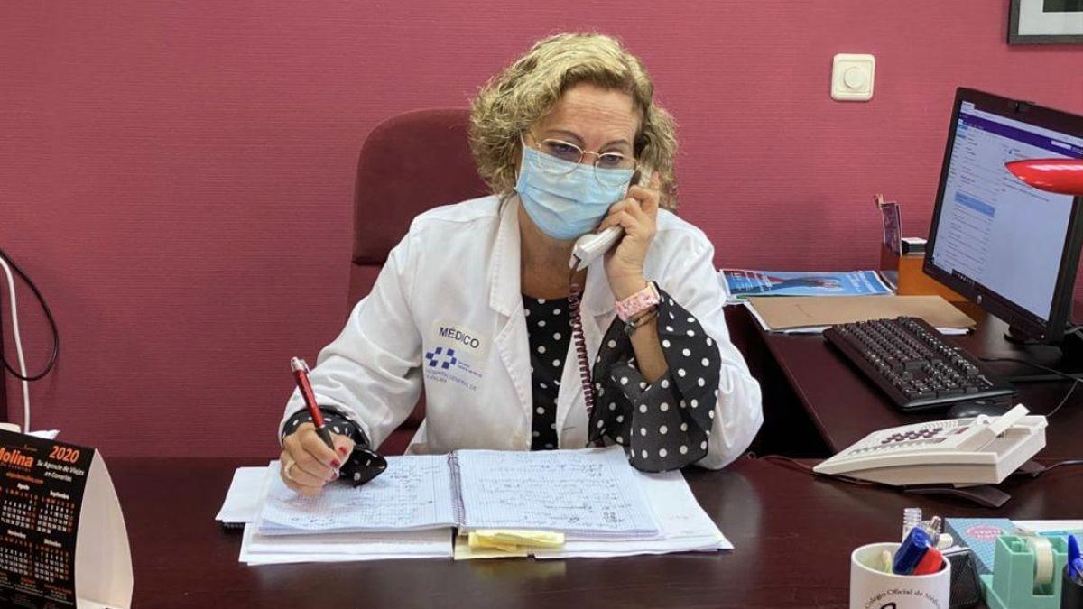 Mercedes Coello es gerente de los Servicios Sanitarios de La Palma.