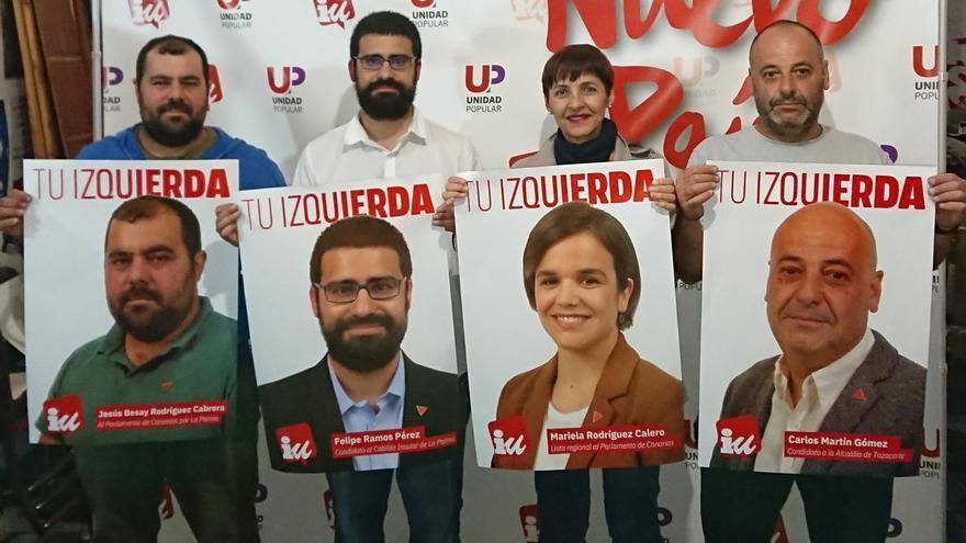 Arranque de campaña de Izquierda Unida Canaria en La Palma.